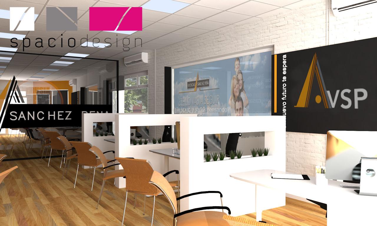 Dise o y decoraci n de oficinas decorador las palmas for Distribucion de oficinas modernas